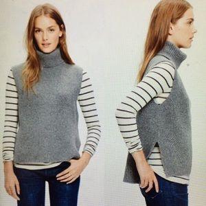 Madewell Wool Turtleneck Sweater Vest